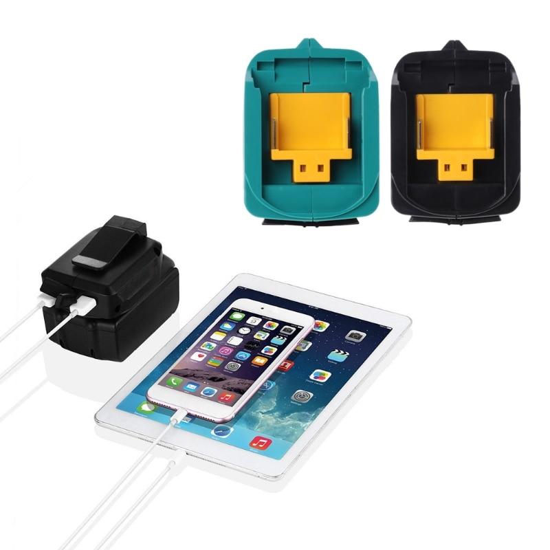 USB Charging Adapter For Makita ADP05 BL1815 BL1830 BL1840 BL1850 1415 14.8-18V  Tool Qiang