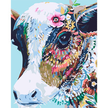 cow Hand Made Paint High Quality Canvas Beautiful Painting By Numbers Surprise Gift Great Accomplishment