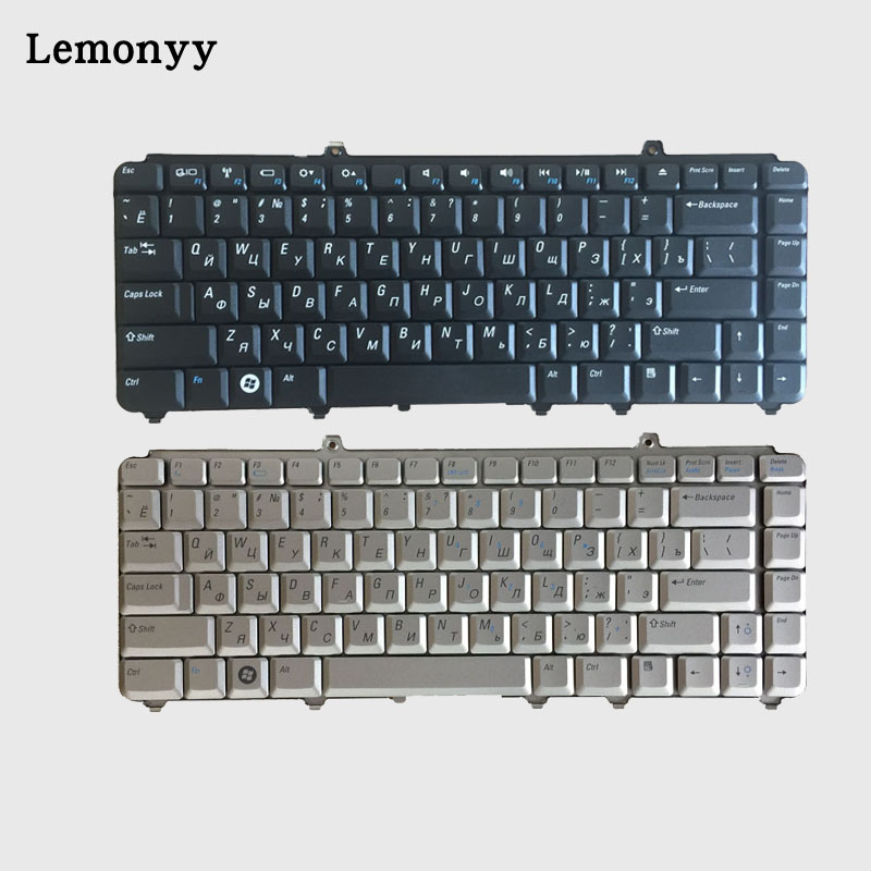 Russian laptop Keyboard For Dell inspiron 1400 1520 1521 1525 1526 1540 1545 1420 1500 XPS M1330 M1530 NK750 PP29L M1550 RU