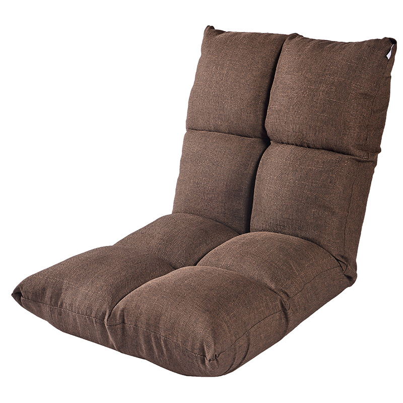 Folding 8 Grids Lazy Sofa Washable Couch Adjustable Sleeping Bed Thick High-elastic Sponge Soft Chair With Invisible zipper