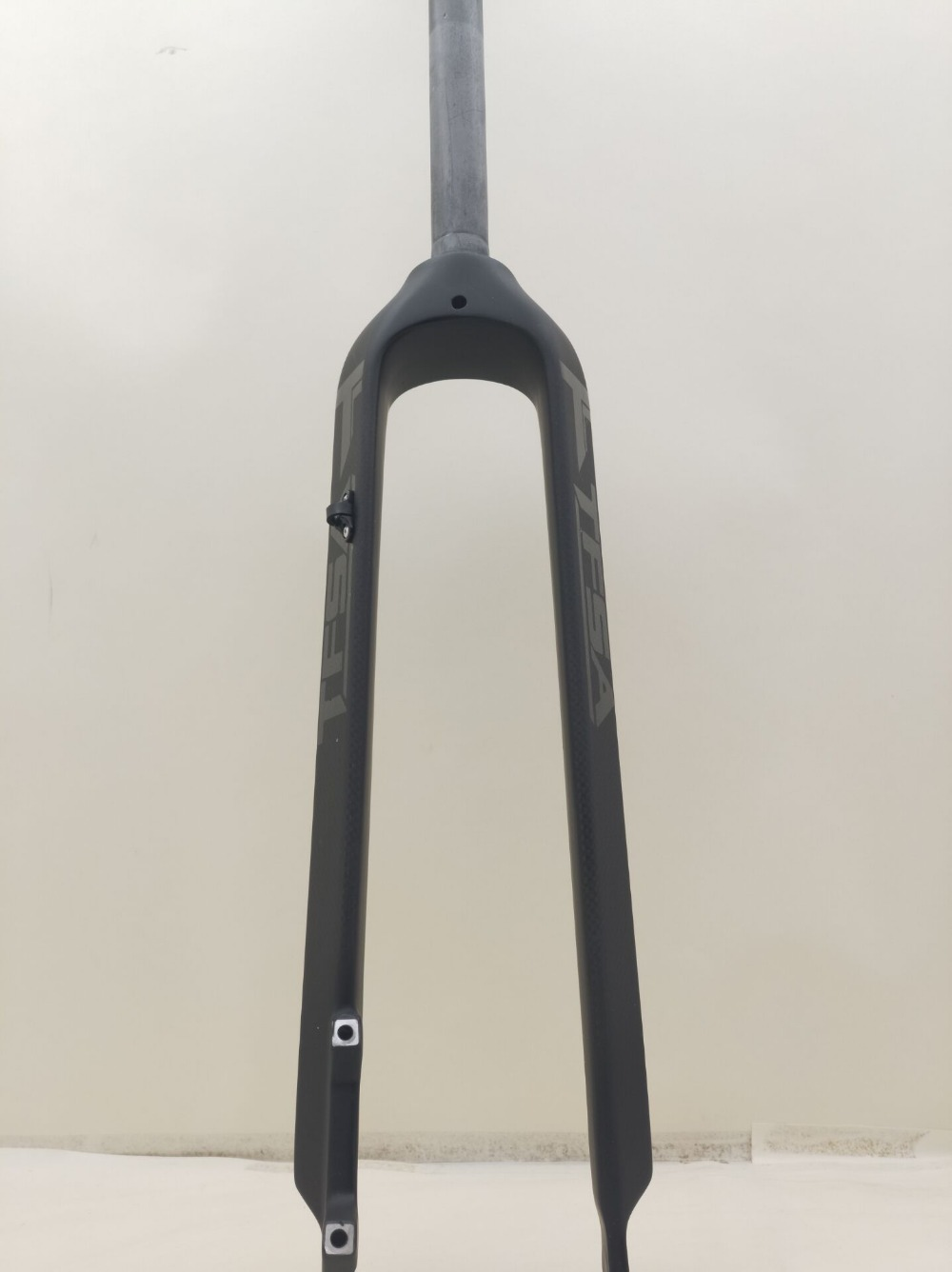 2018 nova TFSA fibra de carbono mountain bike tubo da forquilha dianteira da bicicleta em linha reta 26/29 brilhante logo design exclusivo