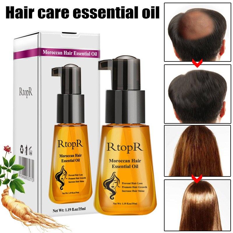 Morocco Argan Hair Care Essence Oil Nourishing Repair Damage