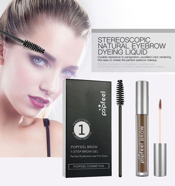 Online Shop Popfeel Brand Natural Waterproof Tattoo Eye Brow Tint