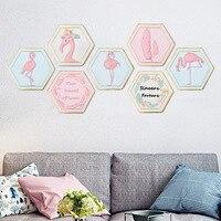 1pc Elegant Flamingo Hanging Painting Resin Hanging Craft Artwork Wall Art Home Decor Ornament