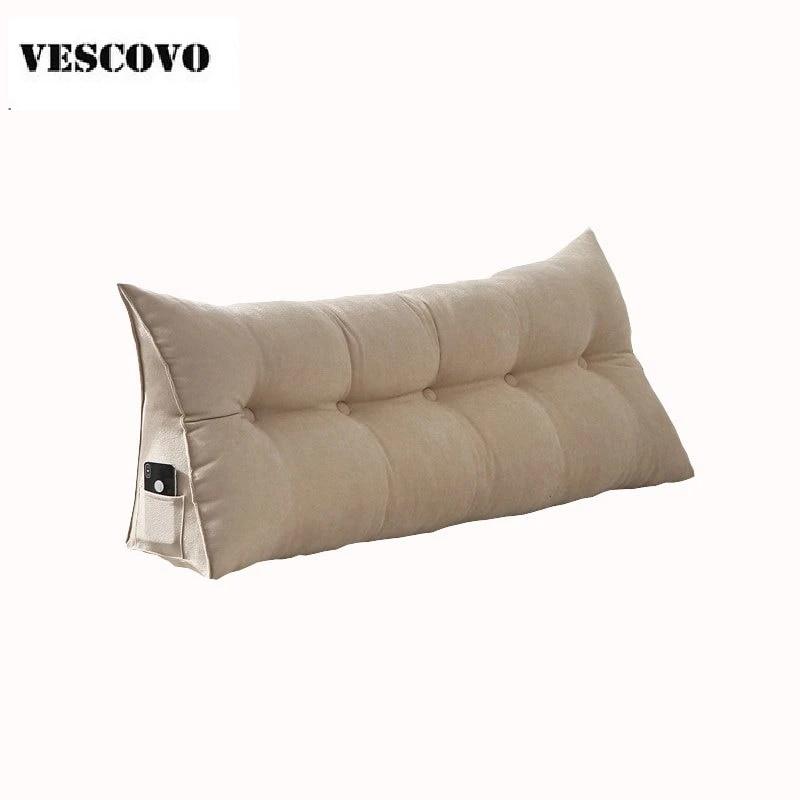 Cuscino Di Seduta Lungo Doppio Cuscino In Cotone Per Cuscino Schienale Letto Cuscino Vita Grande Cushion Aliexpress