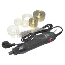 Hand held electric bottle capping machine black tool screwdriver 10-50mm 220V