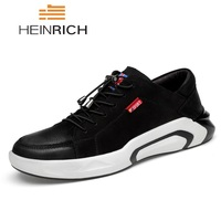 HEINRICH Casual Shoes Men Breathable Autumn Summer Leather Shoes Brand Top Quality Superstar Sneakers Ultra Boost Footwear