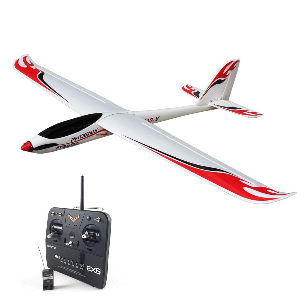 Volantex Phoenix Evolution RC RTF Plane Model W/ Motor Servo 30A ESC Battery volantex super decathlon rc rtf plane model w brushless motor servo esc battery