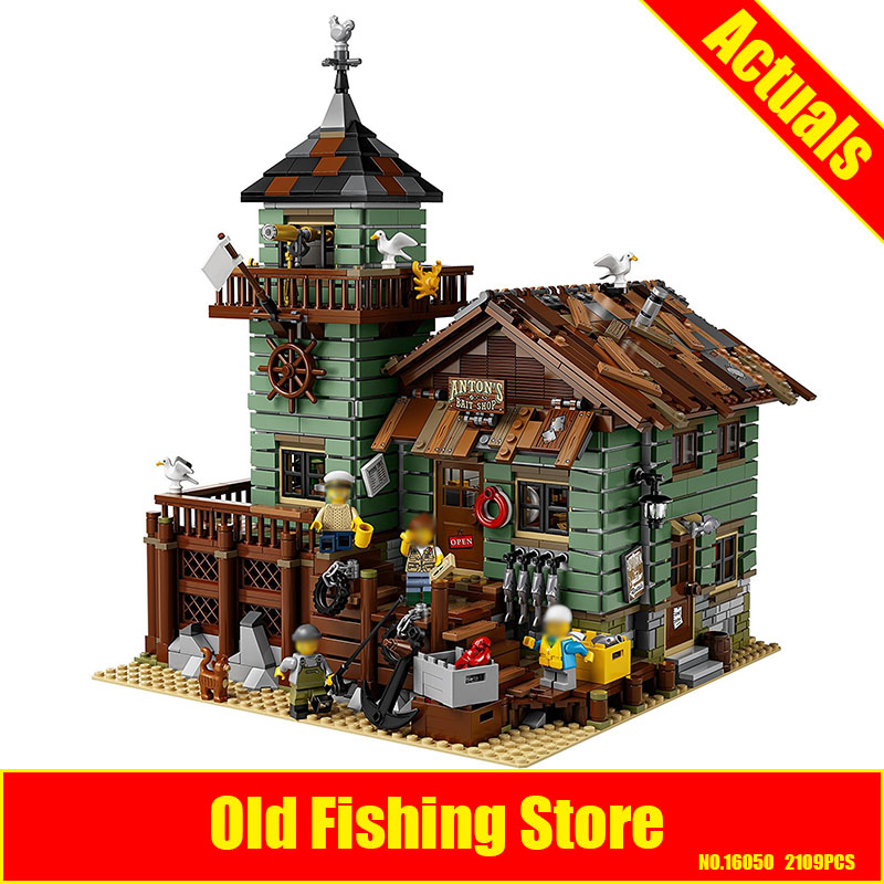 Lepin 16050 The Old Finishing Store Set Genuine 2109Pcs MOC Series21310 Building Blocks Bricks Educational DIY Toys Child'sGift lepin 16050 the old finishing store set moc series 21310 building blocks bricks educational children diy toys christmas gift