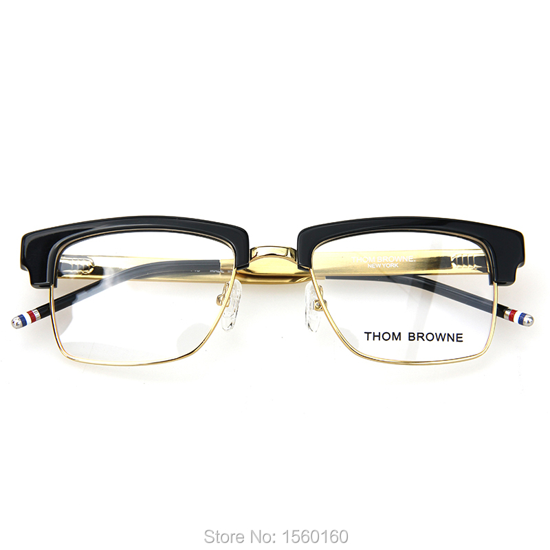 05c0c9eaee79 THOM BROWNE TB 901 reading eyeglasses men women vintage fation myopia  eyewear frames with original box cloth free shipping TB901