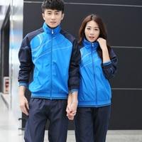 2 pcs Sport Suit Pants Jackets Women Mens Sports Suits Sport Wear Women Running Clothes For Men Sport Set Fitness Gym Couples