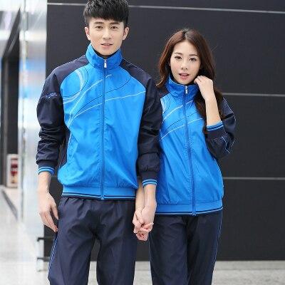 2 pièces Sport costume pantalon vestes femmes hommes Sport costumes Sport porter femmes vêtements de course pour hommes Sport ensemble Fitness Gym Couples
