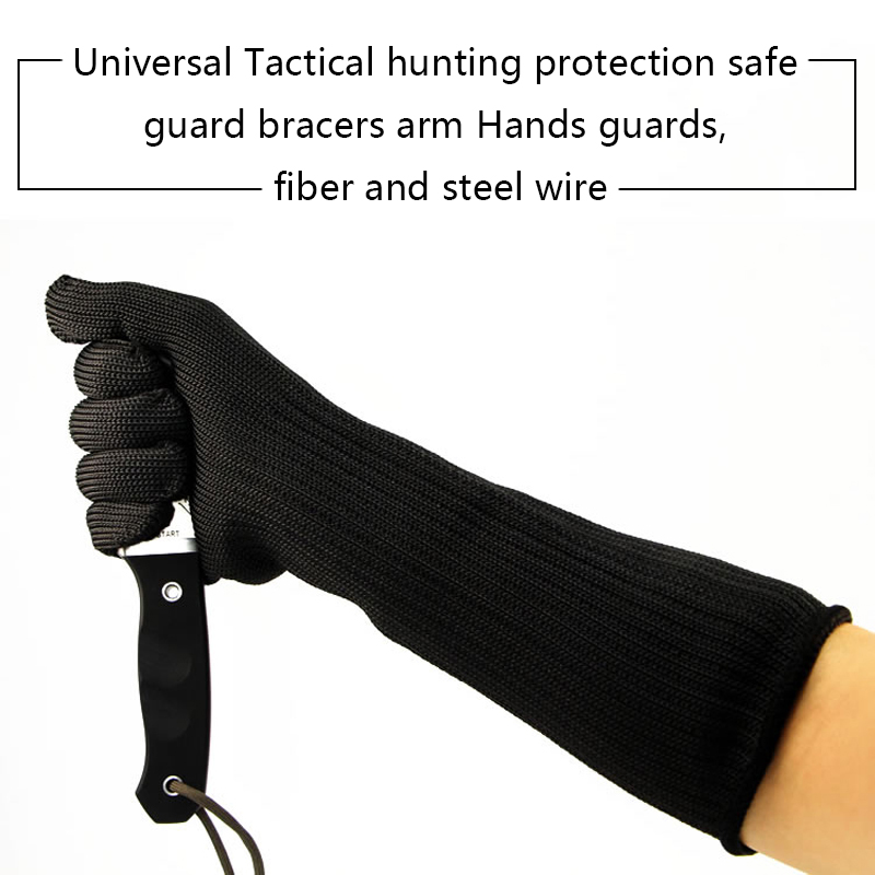 Universal Tactical hunting safe guard bracers arm Hands guards.Cut Proof Protection safe bracers Arm Hands Guards