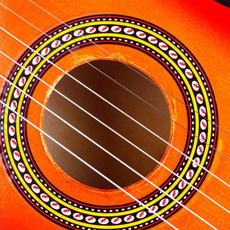 SOACH ukulele concert 21 Inch 6-snarige akoestische gitaar Kids - Muziekinstrumenten - Foto 6
