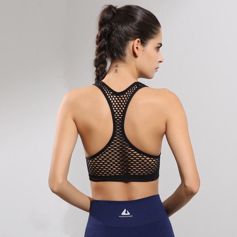LD.ALICE Nueva Sexy Back Respirable Mujeres Deportes Sujetador - Ropa deportiva y accesorios