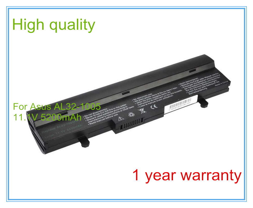 5200mah 11.1v for 1001P 1001PX 1005PX 1005 1005P 1005HA AL31-1005 AL32-1005 ML32-1005 ML31-1005 laptop battery цена