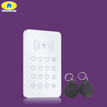 Golden Security K07 Wireless RFID Doorbell 2pcs RFID tag Touch Keyboard for G90B Plus GSM WiFi Home Alarm System Security System
