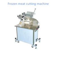 HB 350 14inch Automatic Meat Slicer Vertical Frozen Meat Slicer Lamb Beef Meat Cutting Machine