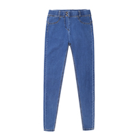 High Quality Durable Women Full Hip Skinny Button Zippers Stretch Jeans New Fashion Sexy Female Winter