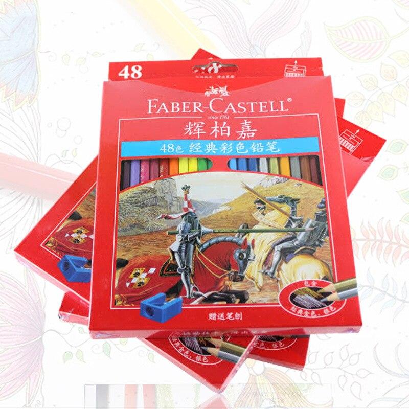Faber Castell Marca Profissionais de Lapis De Cor Conjunto de Lápis de Cor Para Desenhar Esboço Artista Pintura A Óleo Materiais de Arte