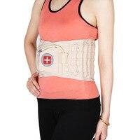 Back Decompression Belt Back Massager Backache Pain Relief Waist Lumbar Spinal Air Traction Brace Supports Belt Bone Health Care