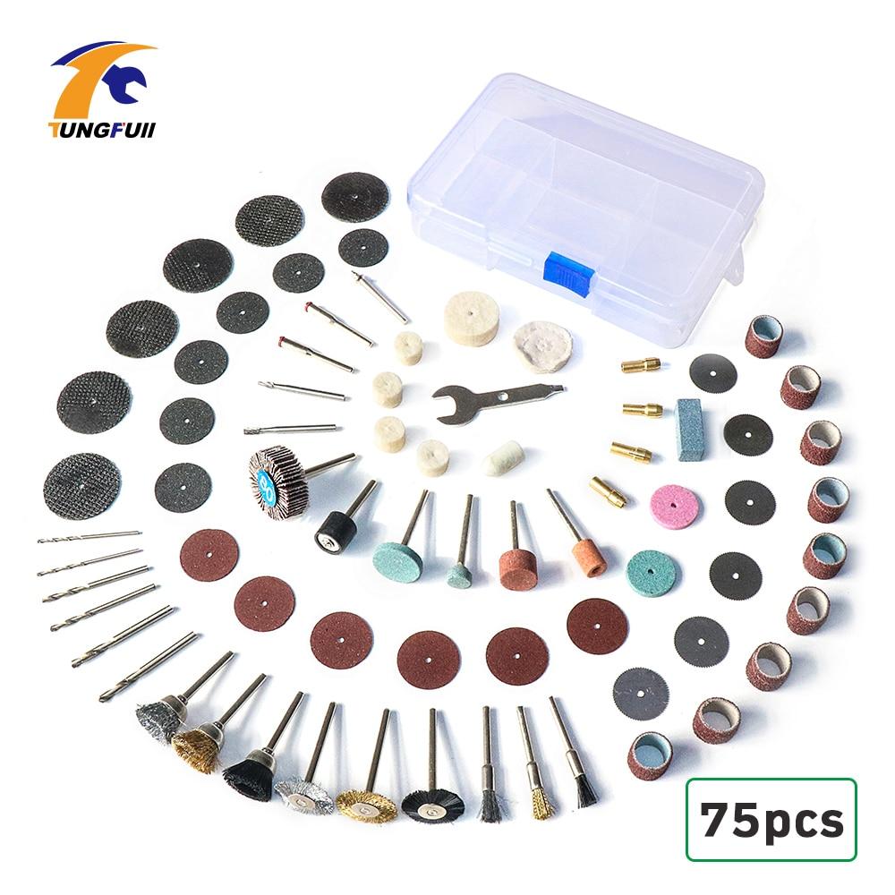 Dutoofree Tool For Dremel Mini Drills Rotary Tools Electric Power Tools Mini Drill Sanding Bands Diamond Grinding Wheels