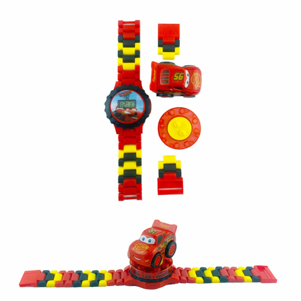 Watches Spiderman Avengers Building Blocks Toys Kids Watches Bricks Compatible Legoingly Ninjaoingly Super Hero Marveling Children Watch