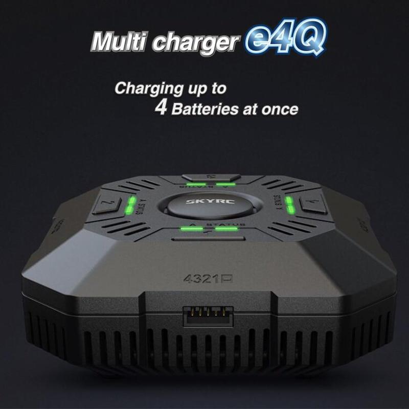 SKYRC Multi Balance E4Q 4 ports XT60 DC chargeur chargeur pour 2 4 S LiPo Drone batterie charge réglable courant 2A 3A 5A-in Pièces et accessoires from Jeux et loisirs    1