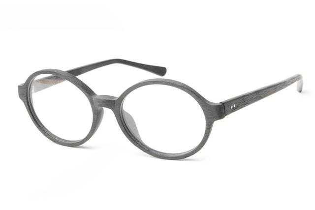 2015 Restaurar antigas formas rodada óculos de leitura vidros ópticos Miopia óculos de armação armações de óculos Imitação de madeira TA12308