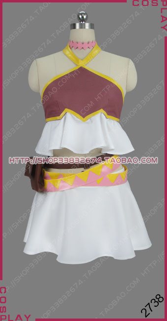 Fairy Tail Dragon Cry LucyCosplay costume Halloween Uniform Outfit 2738