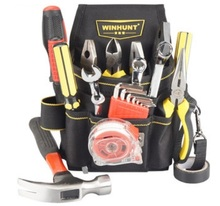 CAMMITEVER Wrench Screwdriver Tools Bag Belt 600D Oxford Multi-functional Electrician Waist Pouch Belt Storage Holder Organizer цена и фото