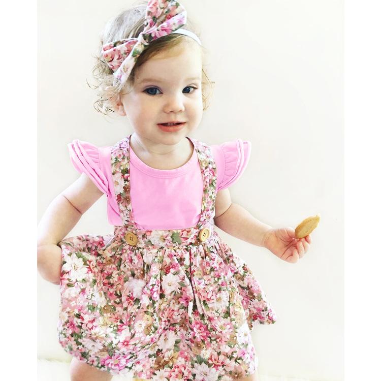HTB15BFSm0rJ8KJjSspaq6xuKpXaJ - 1-4y Summer Children Clothing Floral Girl Skirt Cotton Cute Toddler Suspender Skirts for Baby Girls Clothing