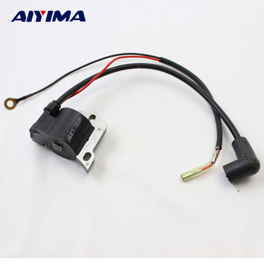 1pc chainsaw ignition coil  139 lawn mower  parts trimmer Gasoline engine hedge machine accessories lawnmower robin type eh25 ignition coil gasoline engine parts generator parts replacement