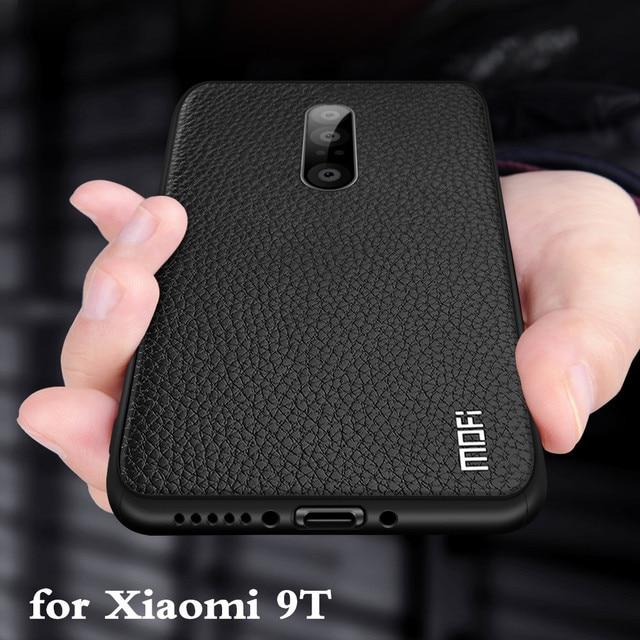 Чехол для Xiaomi 9 T, чехол для Mi 9 T, задний корпус для 9 t, MOFi Coque 9 T, ТПУ, искусственная кожа, Мягкий силикон, полная защита от падения, Xiomi