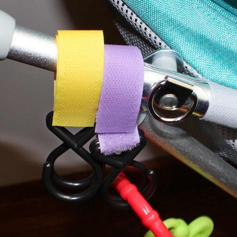 MrY Carrinho de Brinquedo Carrinho de Bebê Ganchos Acessórios Infantil Pushchair Stroller Organizer Sacos de Compras Gancho Cinta Cor Aleatória