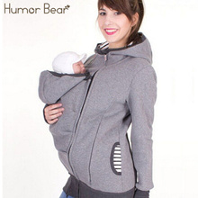 Hoodie Jacket With Zip-On Baby Carrier
