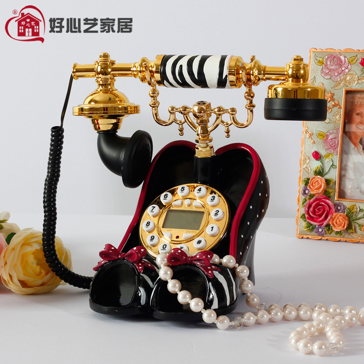 Good Xinyi fixed telephone office home landline telephone high heels fashion personality Decoration home Dial number