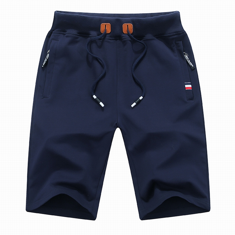 shorts men cotton 2018 summer Solid Mens shorts sweatpants summer bape kanye west plus size fear of god bermuda masculina ...