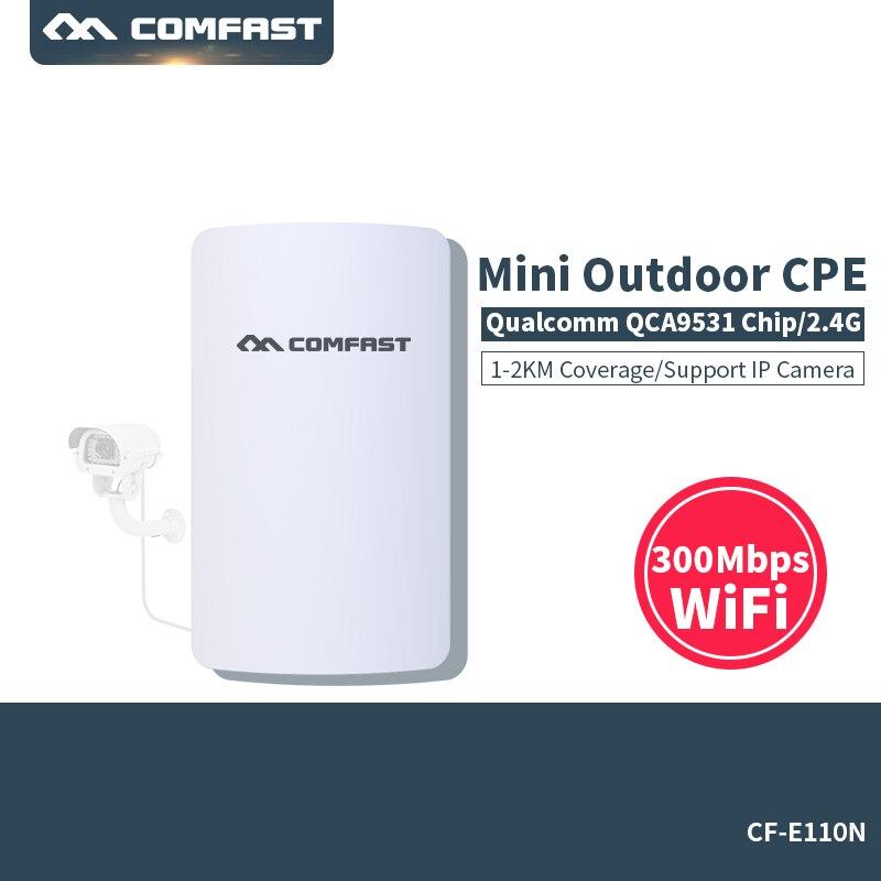 COMFAST 300 M wifi Longue portée Extérieure routeur wifi Wi fi point d'accès étanche Antenne wi fi CPE lan wifi Pont routeur