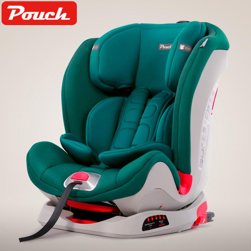 9 Months-12 Years Old Child Safety Seat Isofix Interface Baby Car Seat 3c/cnas European Standard E4 Triple Certification