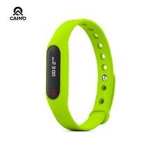 เดิมบลูทูธ4.0 S Mart W Atchหน้าจอสัมผัสติดตามการออกกำลังกายสุขภาพสมาร์ทสร้อยข้อมือสายรัดข้อมือสมาร์ทนาฬิกาสำหรับIOS Android