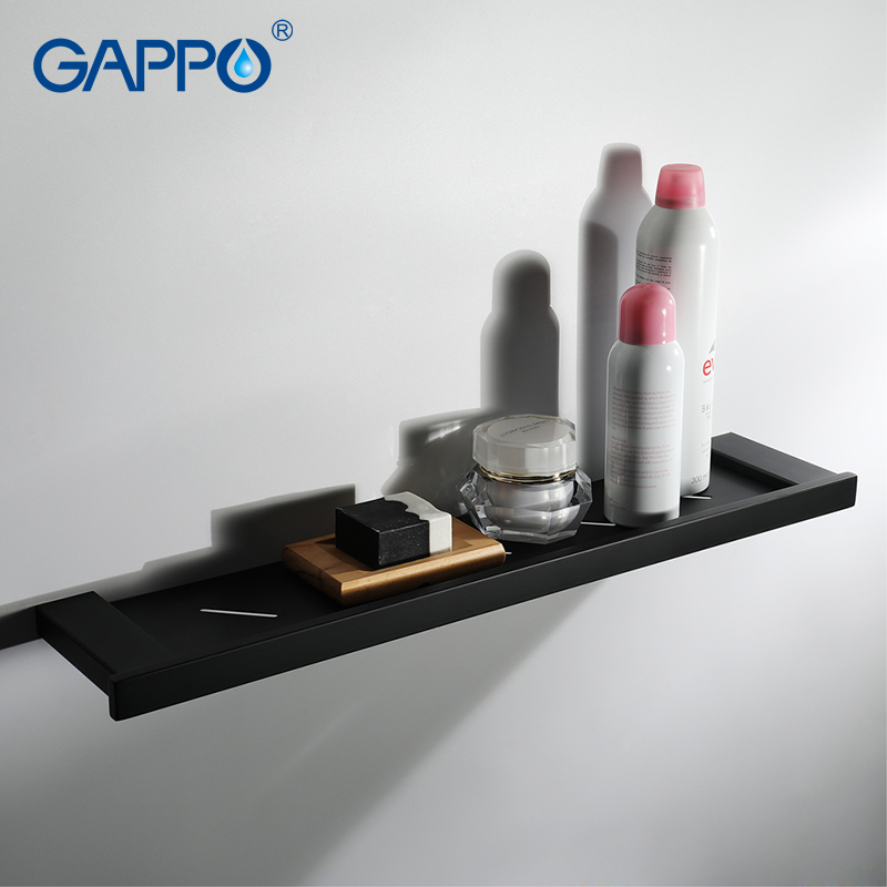 GAPPO bathroom shelves wall mounted cup holders bath hardware accessories bathroom storage rack hanging shelf аксессуар gappo g8001