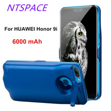 Extended Phone Battery Power Case For Huawei Honor 9i Power Bank Case 6000mAh Backup Battery Cover Portable Power Charging Case
