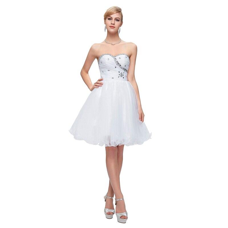 Платье коктейльное белое в блестками