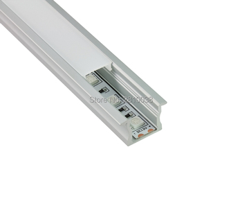 10 x 1M Sets/Lot T shape aluminum led channel with AL6063 Aluminium profile LED strip aluminum for wall recessed light