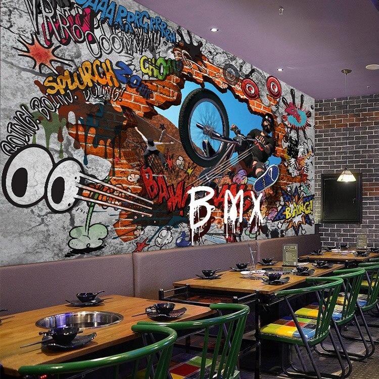 Graffiti Art Wallpapers Group 71: Compra Bar Salón Online Al Por Mayor De China, Mayoristas