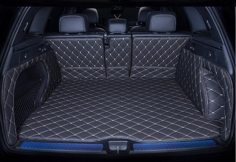JIOYNG 3D Full Rear Trunk Tray Liner Cargo Mat foot pad mats for Benz X253 GLC 200 220 250 260 300 2016 2017 2018 BY EMS