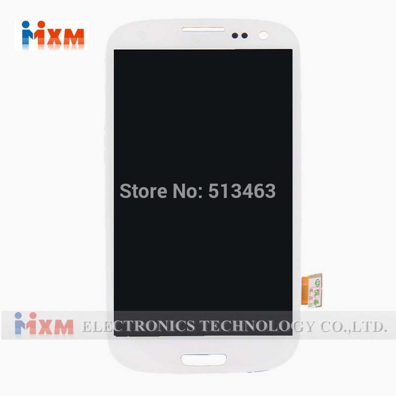 100% New For Samsung Galaxy S3 I9300 I747 I535 LCD Screen Display With Touch Screen Digitizer Assembly
