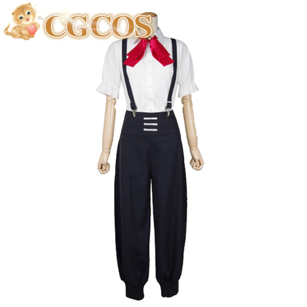 CGCOS CGCOS Free Shipping Cosplay Costume Death Parade Nona New in Stock Retail / Wholesale Halloween Christmas Party Uniform