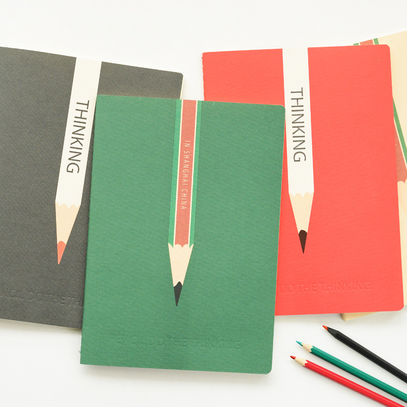 Korea Stationery B5 Fashion Simple Design Notebook ...